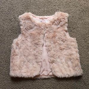 4/5T H&M Faux Fur Vest